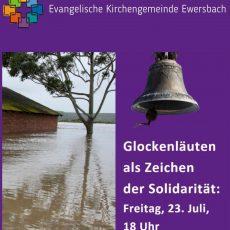 Glockenläuten als Zeichen der Solidarität
